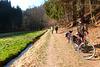 Radfahren im Frühling - Polenztal - Märzenbecher - Bastei