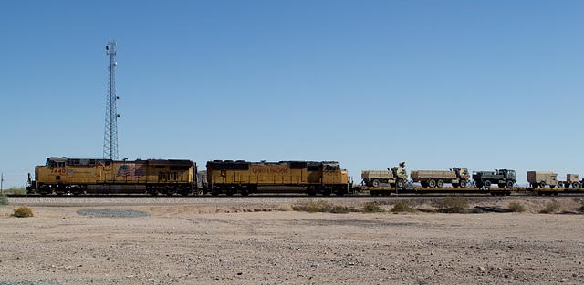 Mohawk AZ UP military transport (# 0607)