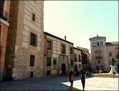 Casa de Los Lujanes and La Plaza de La Villa. (for Amelia)