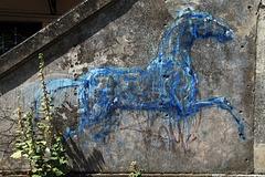 Peinture rupestre des temps modernes