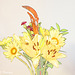 Oriental Lily Arrangement Artistic 092816-001