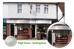 61 High Street - Rottingdean - in the City of Brighton & Hove, England - 5.8.2015