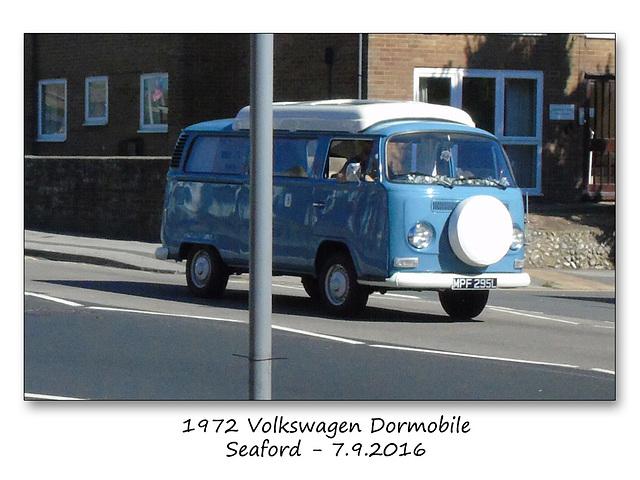 1972 VW Dormobile Seaford 7 9 2016