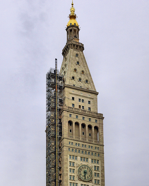 The Met Life Tower – Viewed from Madison Square Park, Broadway at 23rd Street, New York, New York