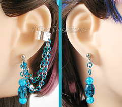 Mermaid Chain Ear Cuff