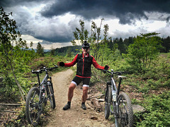 Paul, top of the Verderer's Trail in the Forest of Dean