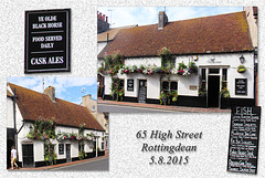 Ye Olde Black Horse - Rottingdean - in the City of Brighton & Hove, England - 5.8.2015