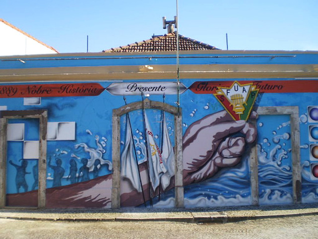 Mural of local association.