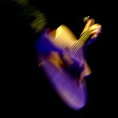vibrazioni di chitarra