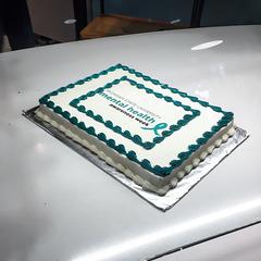 Michigan mental health cake.