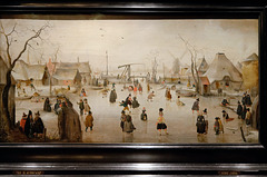 """Scène d'hiver"" - Hendrick Avercamp (1610)"