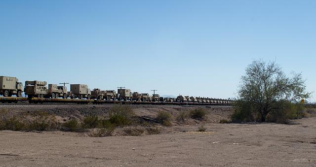 Mohawk AZ UP military transport (# 0608)