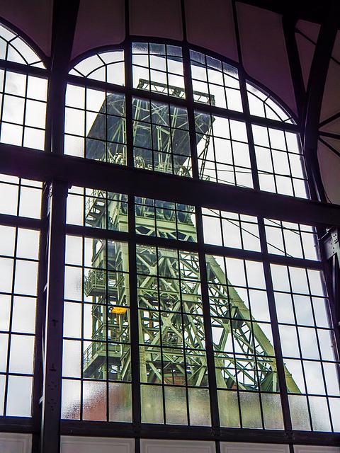 Fördergerüst / Shaft Tower (270°)