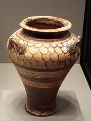 Mycenaean Piriform Jar in the Getty Villa, June 2016