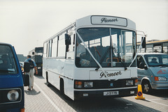 Pioneer Coaches 11 (J 13779) at St. Helier - 4 Sep 1999