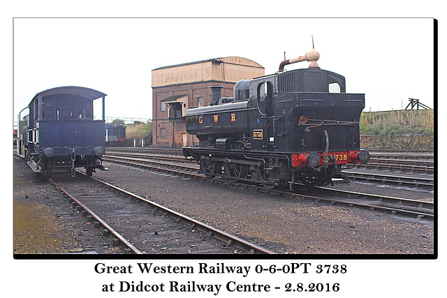 GWR 0-6-0PT Didcot 2 8 2016