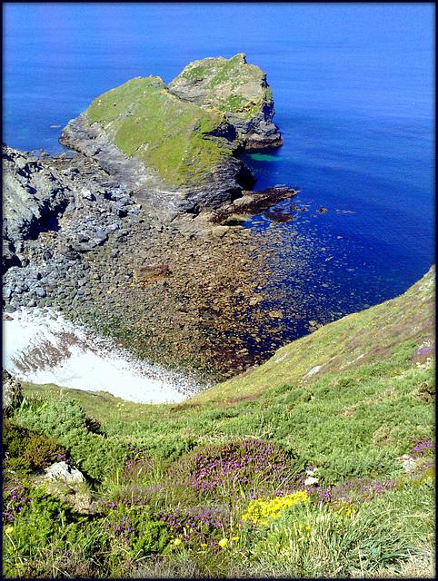 Porthcadjack Cove, Cornwall. H. A. N. W. E. everyone!