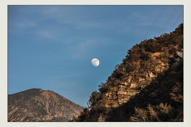 The Mountainous Moon