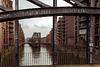 Starke Balken an der Poggenmühlenbrücke