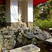 Fountain, Tenryu-ji Temple grounds