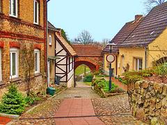 Sternberg, Mühlentor (Stadtseite)