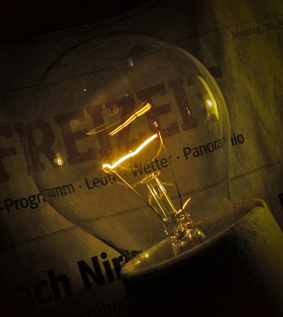 Glühlampe 100 W