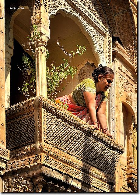 """""""From the balcony"""" - Jaisalmer - Rajasthan - INDIA"""