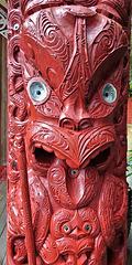 Te Herenga Waka Marae, exterior detail