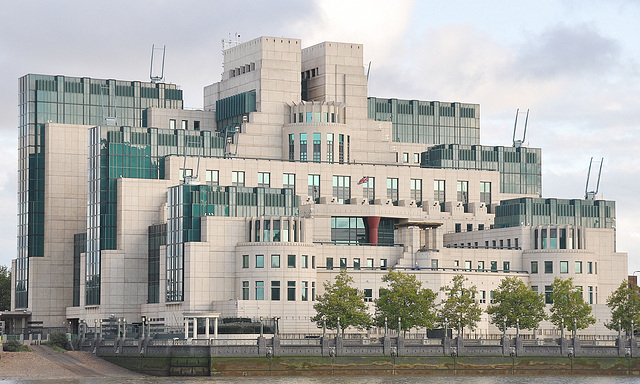 SIS (MI6) Headquarters.