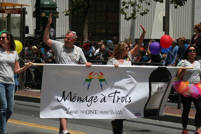 San Francisco Pride Parade 2015 - Official WIne Of Pride (7016)