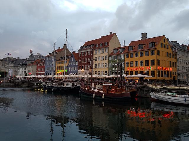 Kopenhagen an einem Sommerabend