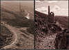Wheal Coates tin mine, then and now. For Andy
