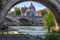 Vatican from Tevere River