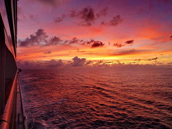 Sunset - SPC 01/2018 - 2° place - Tramonto sull'Atlantico