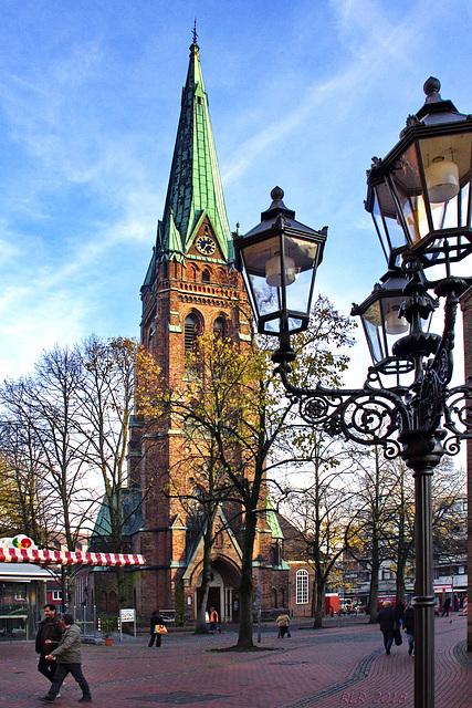 Elmshorn, Blick auf den Alten Markt