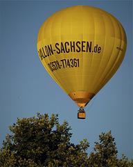 Yellow Hot-Air Balloon