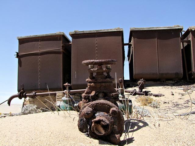 Wasserversorgung in der Wüste