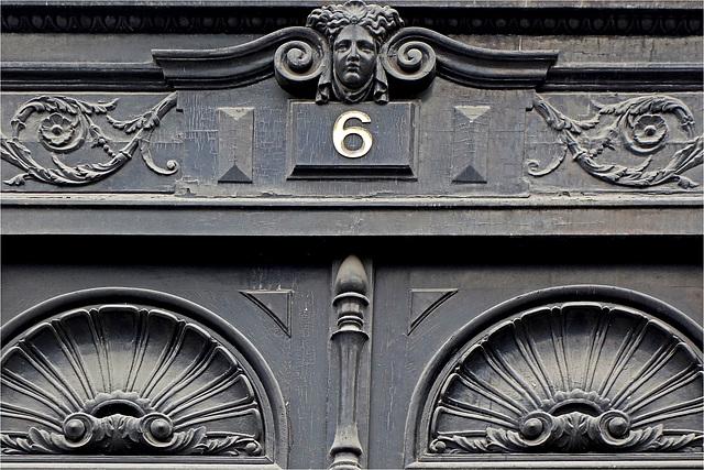 La porte du 6