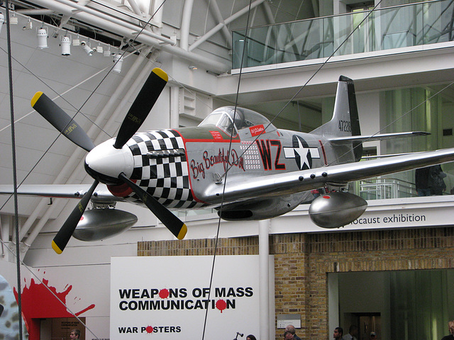 Fighter Plane at the Imperial War Museum