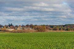 Blick auf Gallin in Mecklenburg