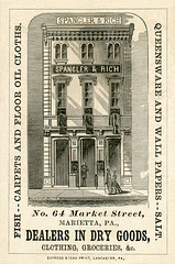 Spangler and Rich, Dealers in Dry Goods, Marietta, Pennsylvania