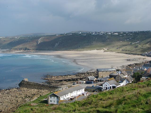 Beach Near Land's End