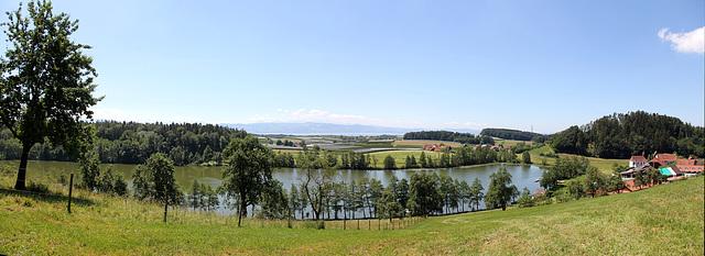 Panoramablick beim Schleinsee/Kressbronn - HFF