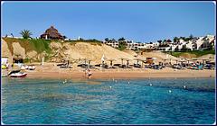 SHARM EL-SHEIK : una spiaggia della città