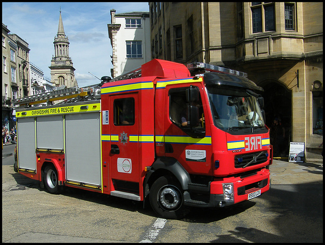 Oxford fire engine