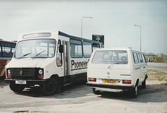 Pioneer 24 and Tantivy Blue 124 at St. Helier - 4 Sep 1999