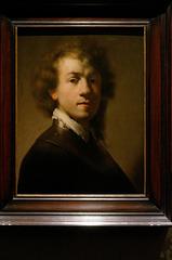"""""""Autoportrait"""" - Rembrandt (1619)"""