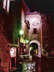 Soir faim et froid à Annecy