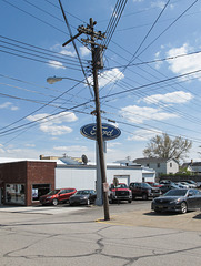 A Ford dealership!