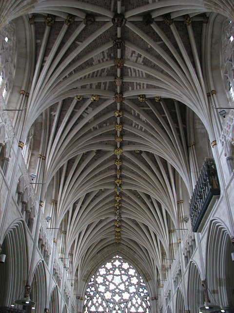Exeter Cathedral Roof